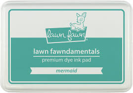 Encre Lawn Fawn Mermaid
