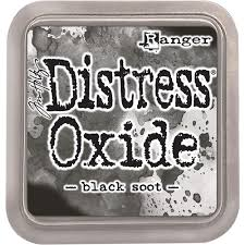 Encre Distress Oxide Black Soot