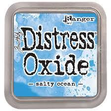 Encre Distress Oxide Salty Ocean