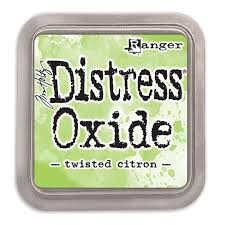 Encre Distress Oxide Twisted Citron