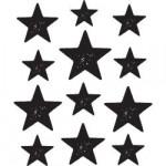 Tampon bois Fond étoiles