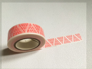 Masking Tape Triangles graphiques