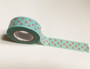Masking Tape Petites croix rouges