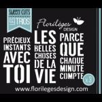 Matrices de découpe Florilèges Design Belles choses