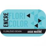Encre Floricolor couleur Aigue Marine