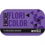 Encre Floricolor couleur Myrtille