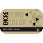 Encre Floricolor couleur Or