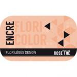 Encre Floricolor Couleur Rose Thé
