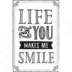 Tampon bois Life with You