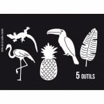 Matrices de découpe Florilèges Design Ananas et compagnie