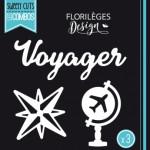 Matrice de découpe Florilèges Design Voyager (Capsule Août)