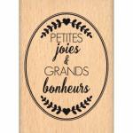 Tampon Bois Florilèges Design Petites Joies