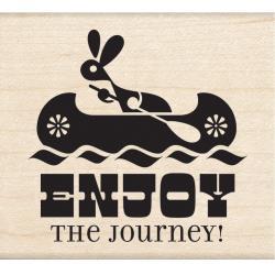Tampon bois Enjoy the Journey