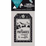 Tampon clear Florilèges Design A couper le souffle ( capsule Août)