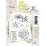 Tampon clear L'Encre&L'image Fleurs de Givre