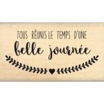 Tampon bois Florilèges Design Tous réunis