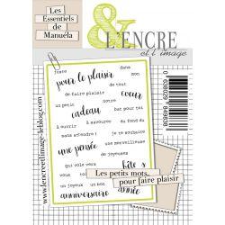 Tampon clear L'encre&L'image Pour faire plaisir