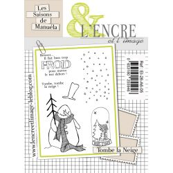 Tampon clear L'Encre&L'image Tombe la neige