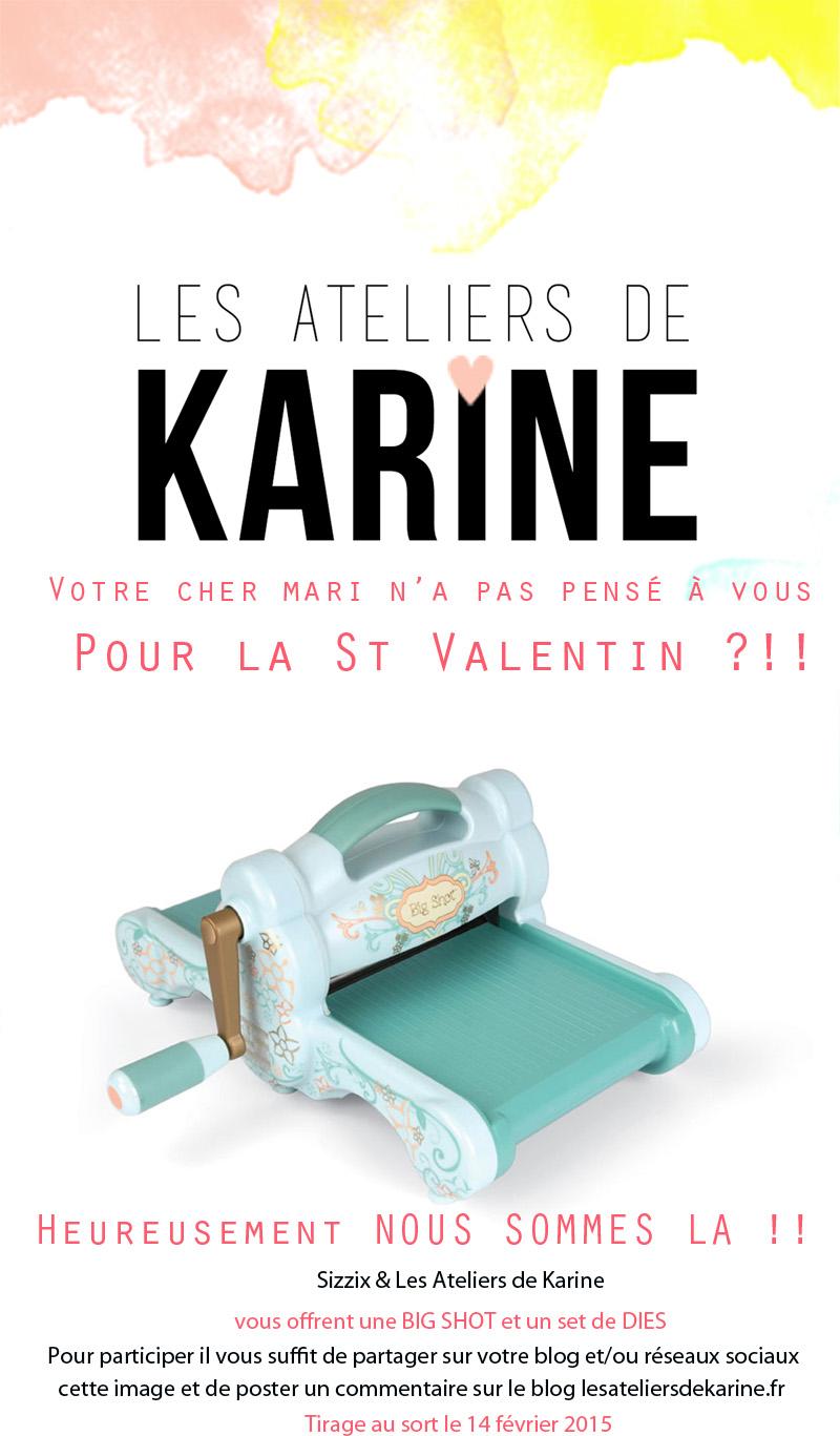 Pour célébrer la Saint Valentin ! - Les Ateliers de Karine
