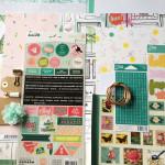 Kit Mini Album Carnet de voyage MINT et son tutoriel