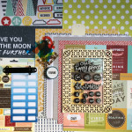 Kit Mini Album Collection de Moments Heureux et son tutoriel