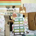 Kit Mini Album Recette du bonheur et son tutoriel