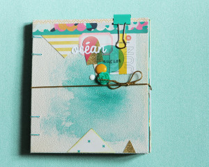 Tutoriel Mini Album Eté