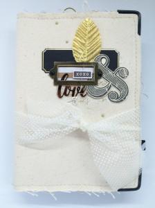 Tutoriel mini album Love Fabric et comment redimensionner vos photos sous WORD