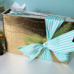 Tutoriel Mini Album Gold & Mint